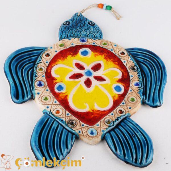 Nazar Boncuklu Kapı Süs Seramik Dekorasyon