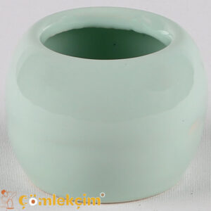 Kaktüs Saksı Mini Açık Yeşil